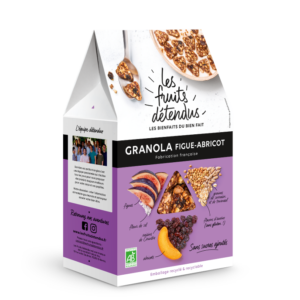 Granola Fruits Figue Abricot - Pack 3D - Granola bio