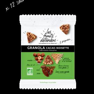 Lot de Snack - Snack Granola Chocolat Noisette - Granola bio