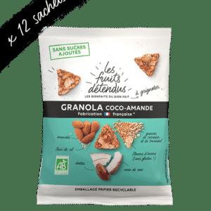 Snack granola coco amande - granola bio