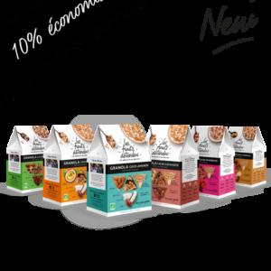 Lot de Granola - Nouveau - Pack Découverte de 6 recettes de Granola bio